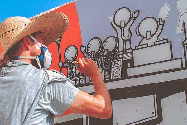 Insight TV Street Art Challenge Pic