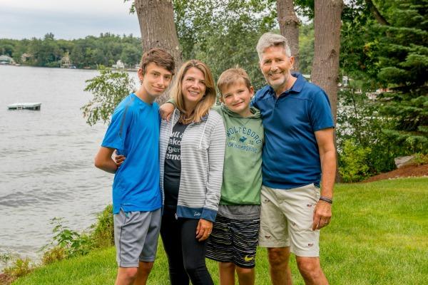 Nancy Daniels and family