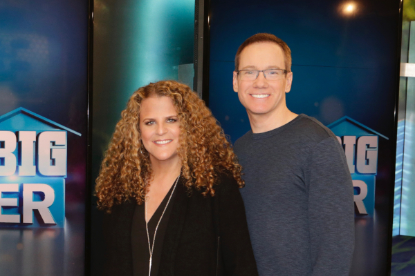 Allison Grodner and Rich Meehan