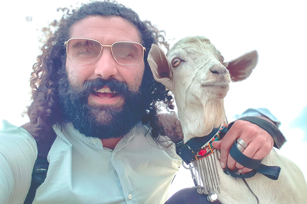 Travel with a goat visual