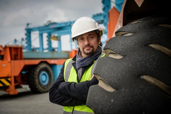 Richard Hammond's Big, Maersk Episode. Copyright Discovery