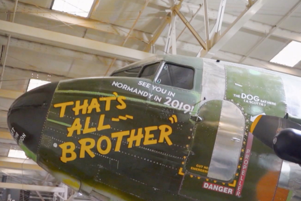 The Plane that Led D-Day