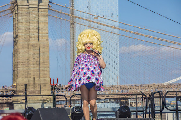 Lady Bunny in HBO's Wig