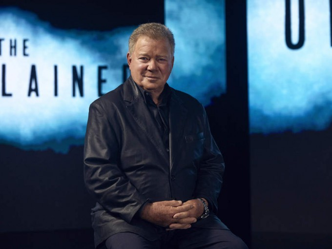 "illiam Shatner, host and executive producer of HISTORY's new series ""The UnXplained"" premiering Friday, July 19 at 10PM ET/PT. Photo by Justin Bettman"