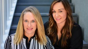 Casey Kriley [left] Jo Sharon [right]