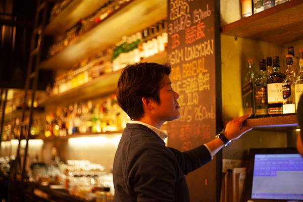 Whisky Bar Manager Chris Wang