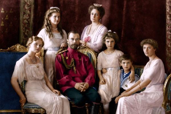 the royals in colour