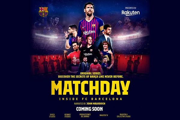 Matchday - Inside FC Barcelona