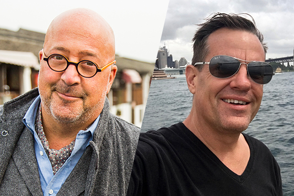 andrew zimmern and patrick weiland