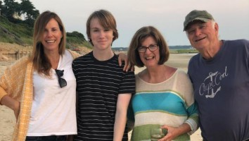 Jennifer O'Connell and family