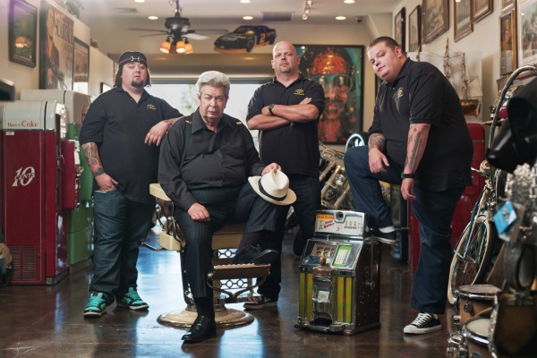 Pawn Stars group shot