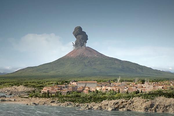 Pompeii Disaster Street