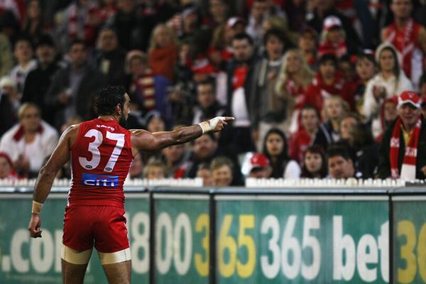 AFL 2013 Rd 09 - Collingwood v Sydney