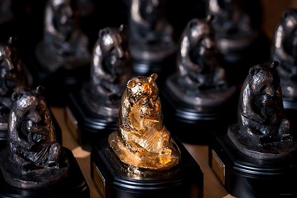 Wildscreen Panda Awards trophies