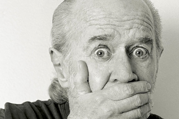 George Carlin. Photo Credit Dan Dion