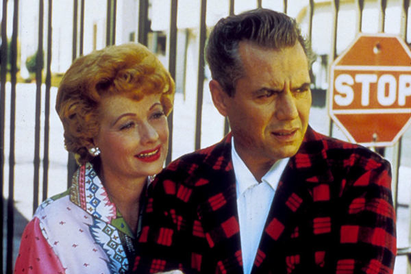 I LOVE LUCY (TV) LUCILLE BALL, DESI ARNAZ ILY 016
