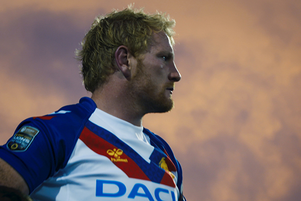 James Graham, the GB RL Lions Captain