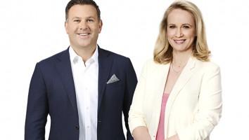 Jarrod Villani And Beverley McGarvey. Co-Leads ViacomCBS Australia and New Zealand.
