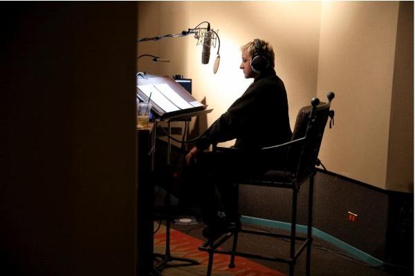 Ellen sound booth