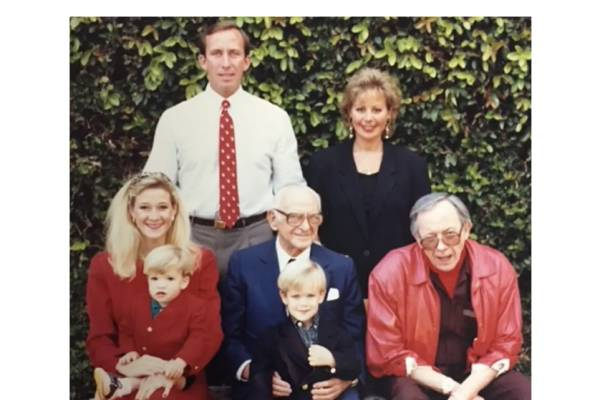 Hammer Family - Michael and Casey standing