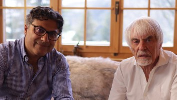 Manish Pandey and Bernie Ecclestone