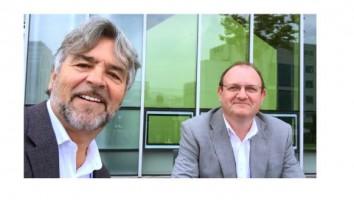 l to r Michel Rodrigue and Justin Scroggie (1)
